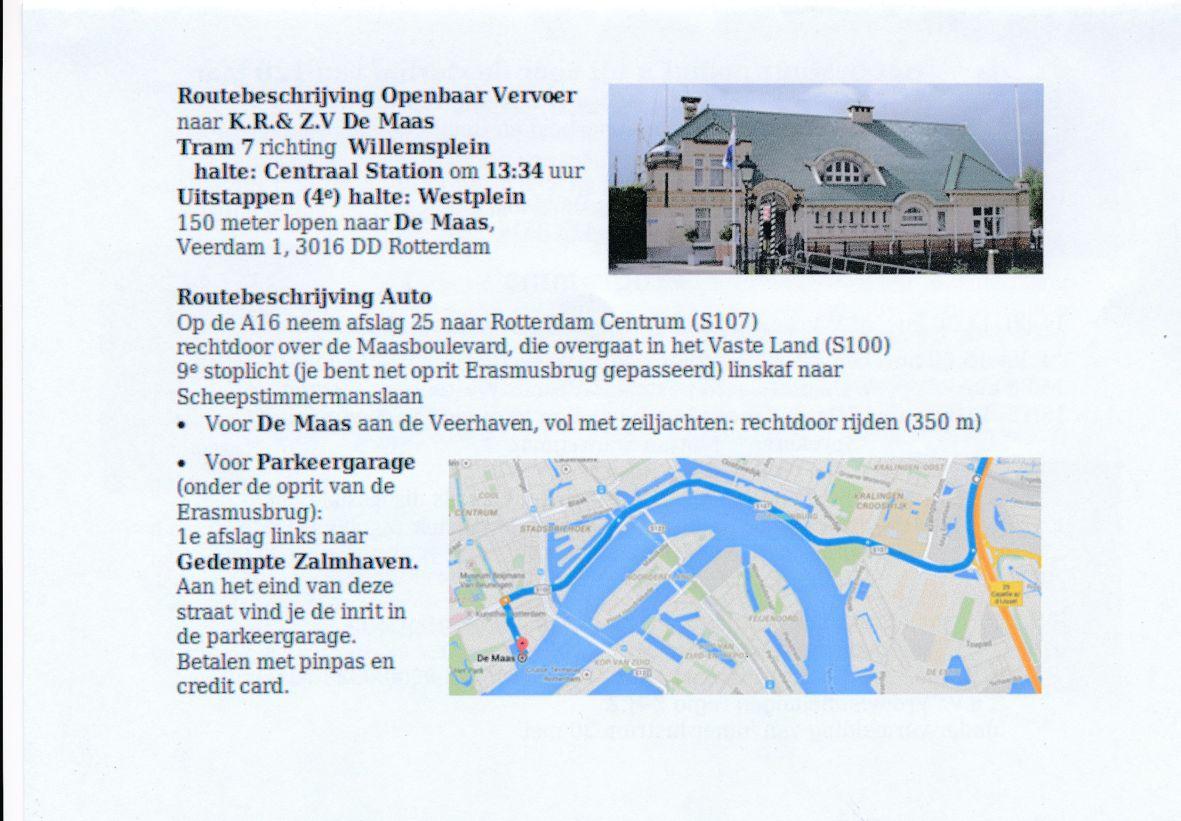 Route Rotterdam 10 cm
